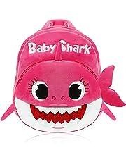 Baby Shark Zainetto, JPYH Zaino da scuola per bambini Baby Cute Shark Zaino da scuola per bambini Rosa