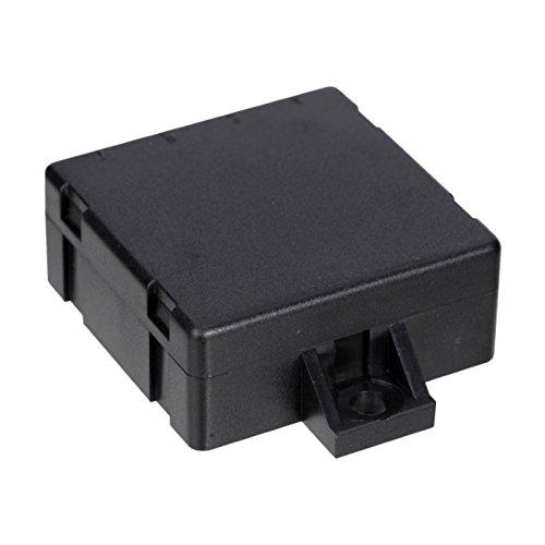10x Modulgehäuse mit Befestigungslaschen und 4 Durchbrüchen, 45x45x18mm, schwarz