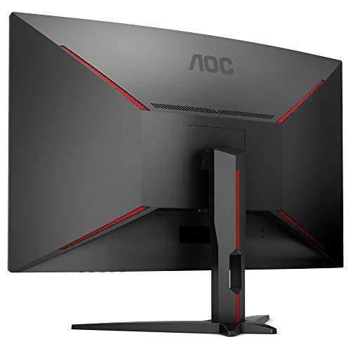 AOC Gaming CQ32G1 80 cm (31.5 Zoll) Curved Monitor (HDMI, DisplayPort, 2560x1440@144 Hz, 1 ms, Free-Sync) schwarz - 5