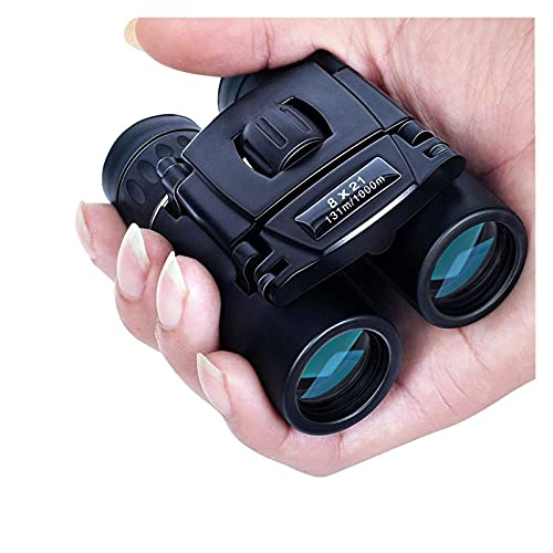 Binoculares para Adultos 8x21 Binoculares compactos de Largo Alcance 1000m Plegable HD...