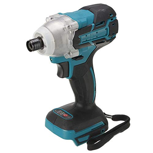 18V 520N.m Cordless Electric Screwdriver Speed Brushless Impact Wrench Rechargable Drill Driver + LED Light For Makita Battery