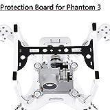 CHENJUAN 1pc Kameraplatte Deckelhalter Carbon Fiber Protection Board Gimbal-Schutz-Schutz for DJI Phantom 3 Ersatzteile Zubehör Ersatzteile (Bundle : for Standard Edition)