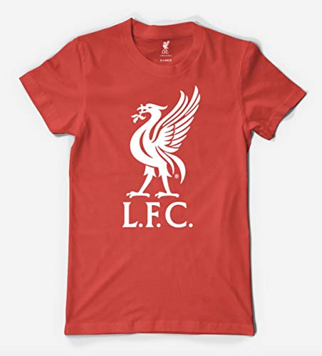 Liverbird T Shirt Mens MEDIUM Liverpool F.C