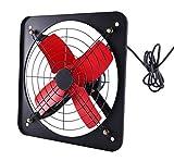 Ventilador de escape Tipo de ventana de humo de 14 pulgadas de gran alcance, silencioso, con gran volumen de aire, ventilador de ventilación industrial con cobre Hogar y baño en el hogar Ventilación e