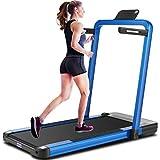 ANCHEER 2 in 1 Folding Treadmill,...