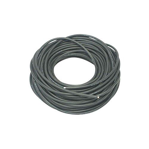 PC Electric 134350 Gummikabel, Kabeltype: H05RR-F 3G1.5, Länge 50 m, Schwarz
