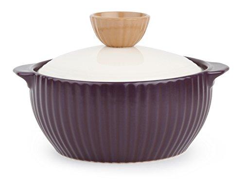 Neoflam Mystic Valley - Batería de cocina de cerámica, 1,4 QT, color morado