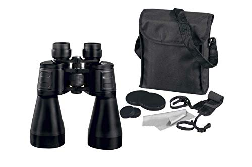 Auriol Jagd Fernglas 8x60 Plus Umhängetasche, Reinigungstuch & Schutzkappen