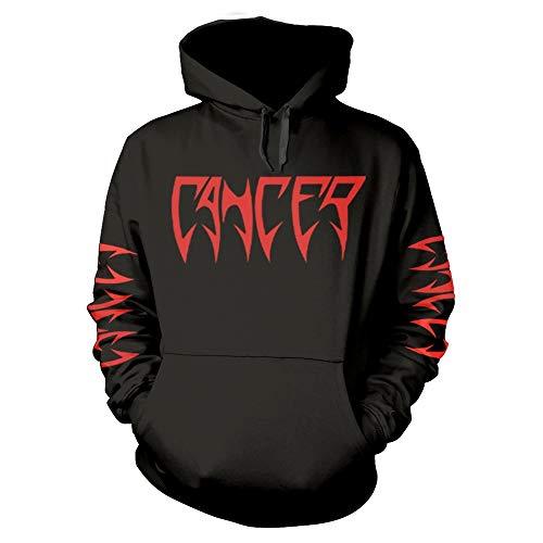Cancer Death Shall Rise Ufficiale Felpa con Cappuccio (XX-Large)