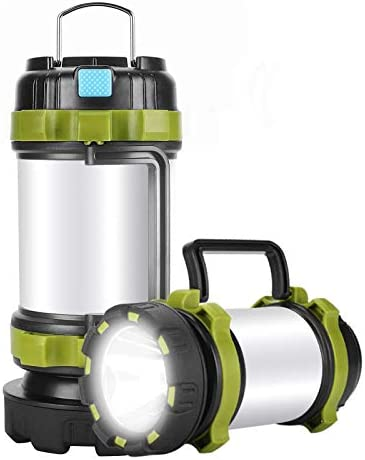 Camping Lantern Rechargeable Alpswolf Camping Flashlight 4000mAh Power Bank 6 Modes IPX4 Waterproof product image