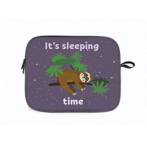 Sloth Cute on 14 Inch Laptop Messenger Bag Compatible with Fujitsu, Lenovo, HP, Samsung, Sony