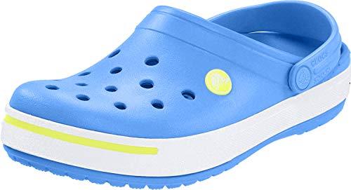 Crocs crocs Unisex-Kinder Crocband II Clogs, Ocean Citrus, 42/43 EU