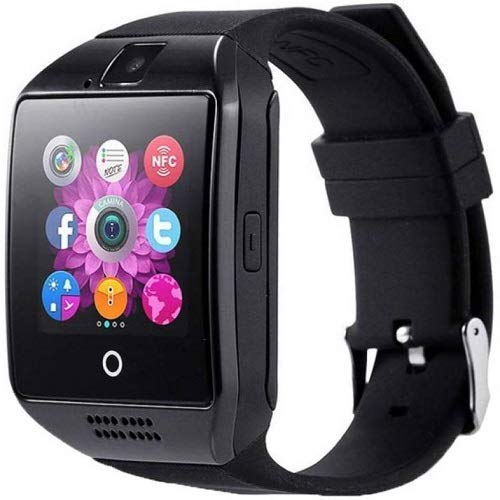 SYUM A1 Smart Watch Wireless Bluetooth Smartwatch Compatible with All Mobile Phones for Boys and Girls - (Pink), A1 SmartWatch