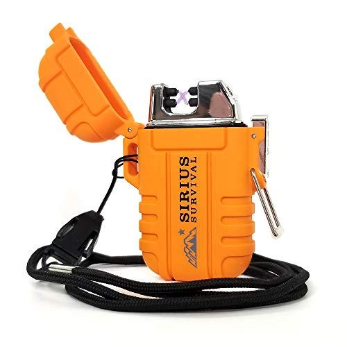 sirius survival zeux electric plasma lighter