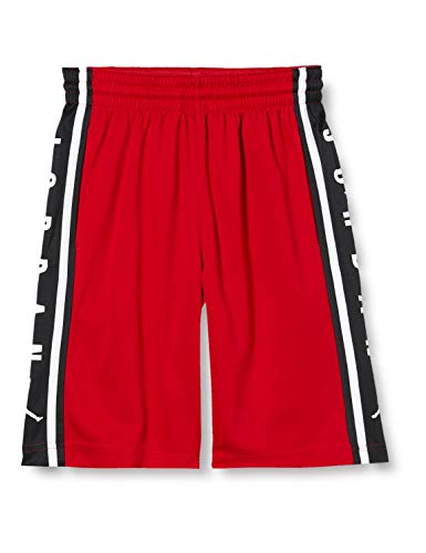 Nike Air Jordan Hbr Bball Short, Pantaloncini Sportivi Bambino, Gym Red, 13-15Y