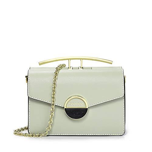 AINOT Kleine Party Tasche weibliche wilde Handtasche net rot Messenger Bag weibliche Umhängetasche grün
