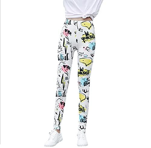 freaky Leggings Elásticos Finos De Seda De Leche, Pantalones Lisos con Estampado Abstracto, Damas Adecuadas para Correr, Hacer Ejercicio, Yoga