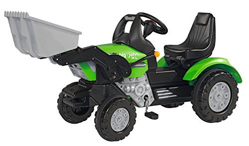 BIG - 800056546 - Tracteur John-XL-Loader sans démarreur sonore