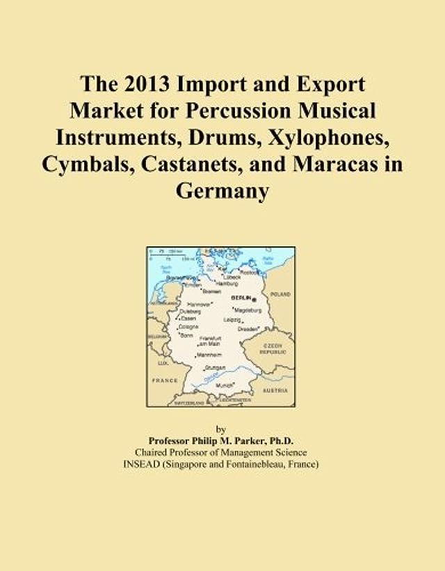 かごロマンチック高めるThe 2013 Import and Export Market for Percussion Musical Instruments, Drums, Xylophones, Cymbals, Castanets, and Maracas in Germany