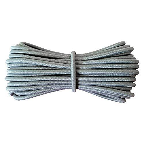 Yusea 4 cuerdas elásticas de repuesto para silla de gravedad cero reclinable, tumbona de jardín, cuerda elástica