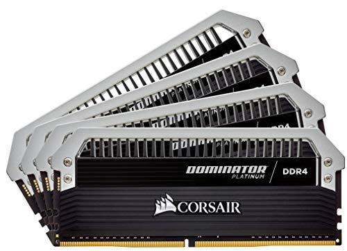 Corsair CMD32GX4M4C3200C16 Dominator Platinum DDR4 32GB (4 x 8GB) C16 Arbeitsspeicher Kit 3200MHz XMP 2.0