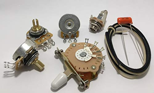 Deluxe TAOT Wiring Kit for Fender Strat - .022 Orange Drop Cap - Stratocaster