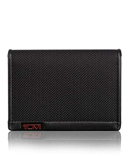 TUMI - Alpha Gusseted Card Case Wallet with RFID ID Lock for Men - Black