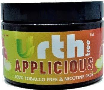 UrthTree Urth Tree Applicious Double Apple Hookah Shisha Tobacco Free Molasses Herbal