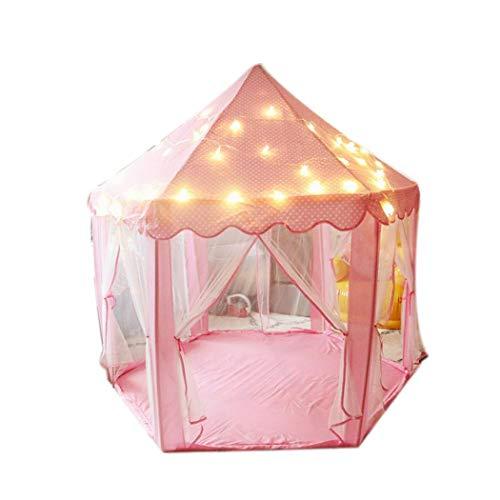 fnemo Spielen Zelt,Mädchen Prinzessin Schloss Zelt Kinder Indoor-Spiele Spielhaus Spielzeug Zelt