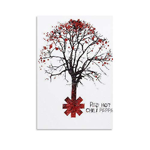 TIANDOU Red Hot Chili Peppers Tree Shirt - Póster decorativo para par