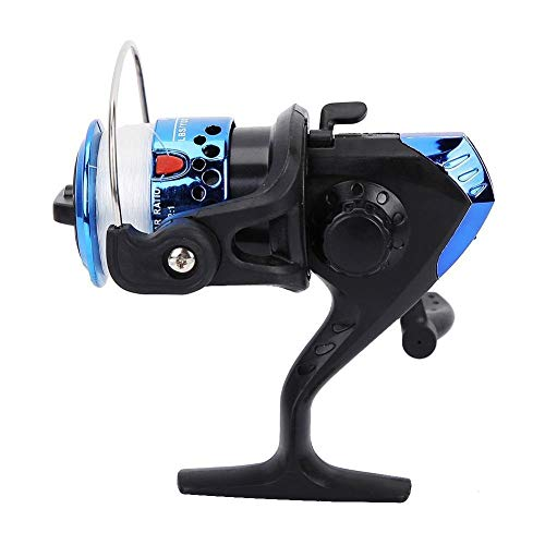 Reel giratorio MINI Tipo de hielo Pesca carrete giratorio rodamientos de rueda...