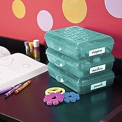 professional STERILITE 17226W12 Box, 12 per pack, Molokai Blue, 12 per pack