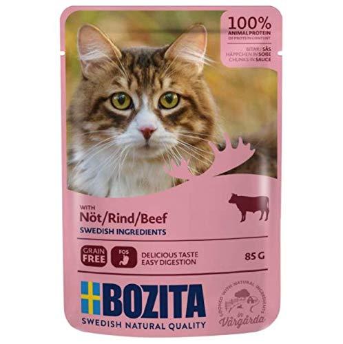 Bozita Chunks in Sauce Pouches Beef Saver Packs 24 x 85g