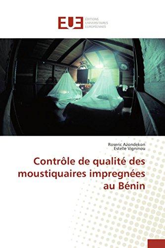Contrôle de qualité des moustiquaires impregnées au Bénin