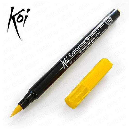 SAKURA Pinselstift Koi Coloring Brush, gelb
