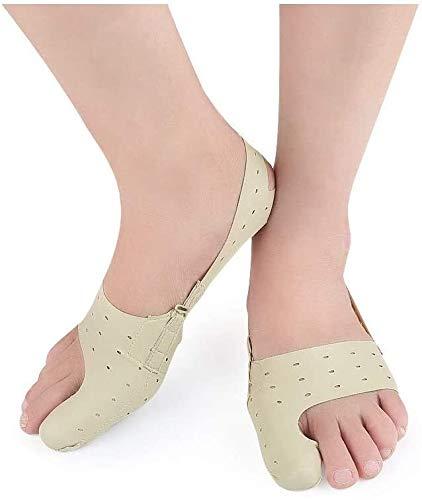 NIANXINN For Toe Separador Vendaje for Valgus Corrector Foot Ortesis for Toe Soporte Straightenerfor Brace, alisadores del Dedo del pie for los Dedos doblados Separador de Punta