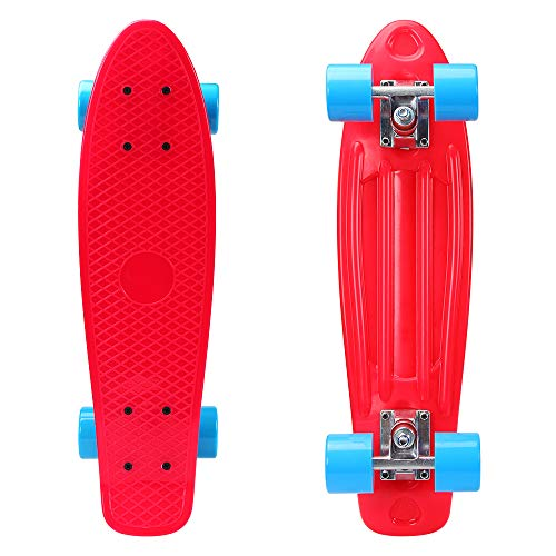 Penny Skateboard Cruiser Fun Table LED 22 inch pennyboard up to 100 kg