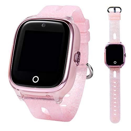 ON WATCH Smartwatch Kinder GPS + WiFi + Lbs + Agps mit SIM Karte, Kamera, wecker, chatten, Aktivitätstracker und vieles mehr Uhr mädchen um Ihre Kinder im Auge zu behalten