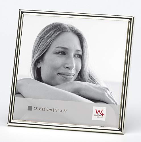 Walther design WD313S Chloe Portraitrahmen 13x13 cm, silber