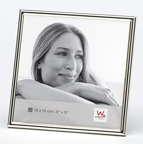 walther design WD313S Chloe Portraitrahmen 13x13 cm, silber