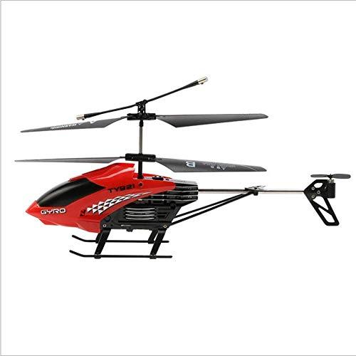 Mini elicottero telecomandato senza fili 2 canali giroscopio incorporato anti-collisione RC Drone giocattolo - Hobby Radio Resistenza agli urti aereo Indoor Outdoor per ragazzi e ragazze Regali di com