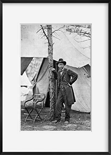FOTOGRAFIE INFINITE 1864 11 o 12 giugno, Stampato Più tardi Fotografia del generale Ulisse S. Grant presso la sua sede a Cold