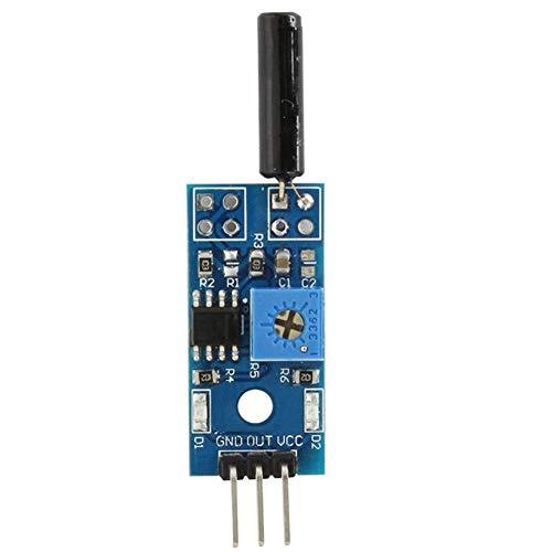Louise Connie Módulo Sensor Vibración Interruptor del Sensor ModuleVibration SensorVibration SensorSMART de Coches Accesorios Arduino
