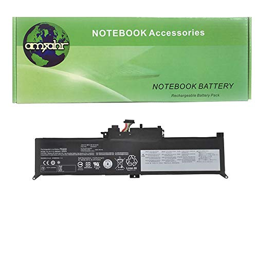Amsahr SB10F46465-02 - Batería de reemplazo para Lenovo SB10F46465, ThinkPad Yoga 260 (20FE-S08P01), 260 (20FD-000SAU), 260 (20FD-0014AU) Color Gris