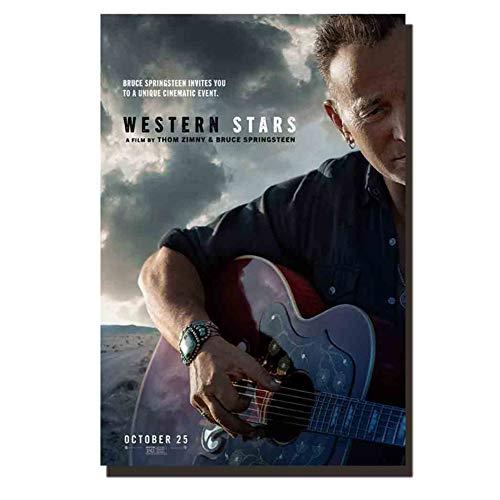 western stars film poster canvas schilderij kamer decoratie foto's print op canvas -50x75cm geen frame