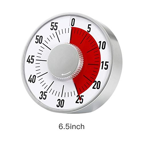 Z-Y Timer keuken Big Classroom Visual Timer Magneet Medium 60 Minute Time Stille werking autisme aangepast 3 Levels