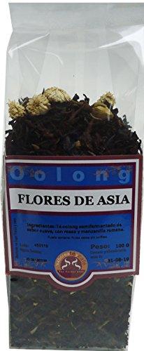 SABOREATE Y CAFE THE FLAVOUR SHOP Té Oolong Azul Semifermentado Flores de Asia Infusión Natural Adelgazante Granel 100 Gramos