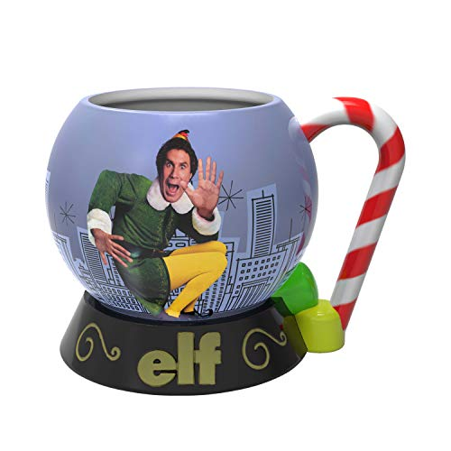 Zak Designs Elf movie Buddy Unique 3D Character Sculpted Ceramic Coffee Mug, Collectible Keepsake and Wonderful Coffee Mug (15 oz, Buddy, BPA-Free)