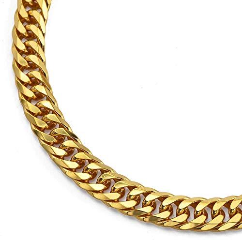 純金 喜平ネックレス K24 6面カットダブル 100g 60cm 造幣局検定マーク 刻印入り ユニセックス 喜平 チェーン