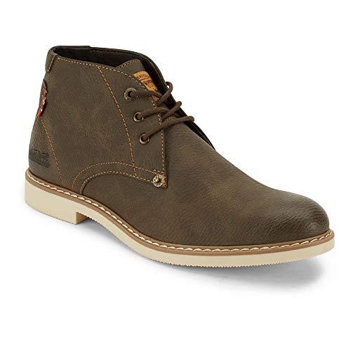 Levi's Mens Monroe WX Casual Chukka Boot, Brown, 9 M